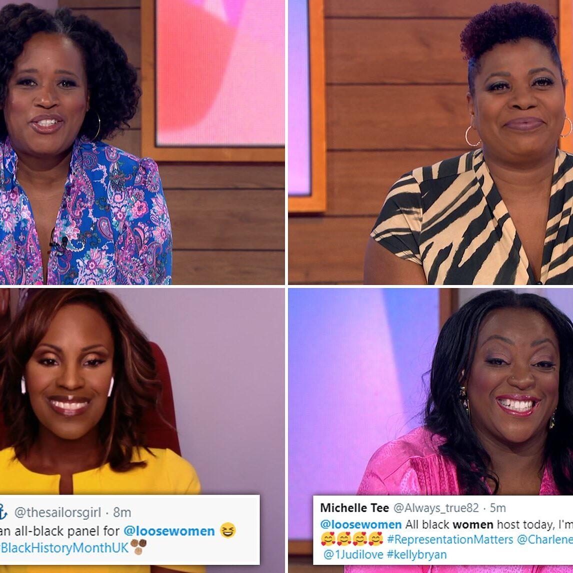MI Loose Women's First All Black Panel