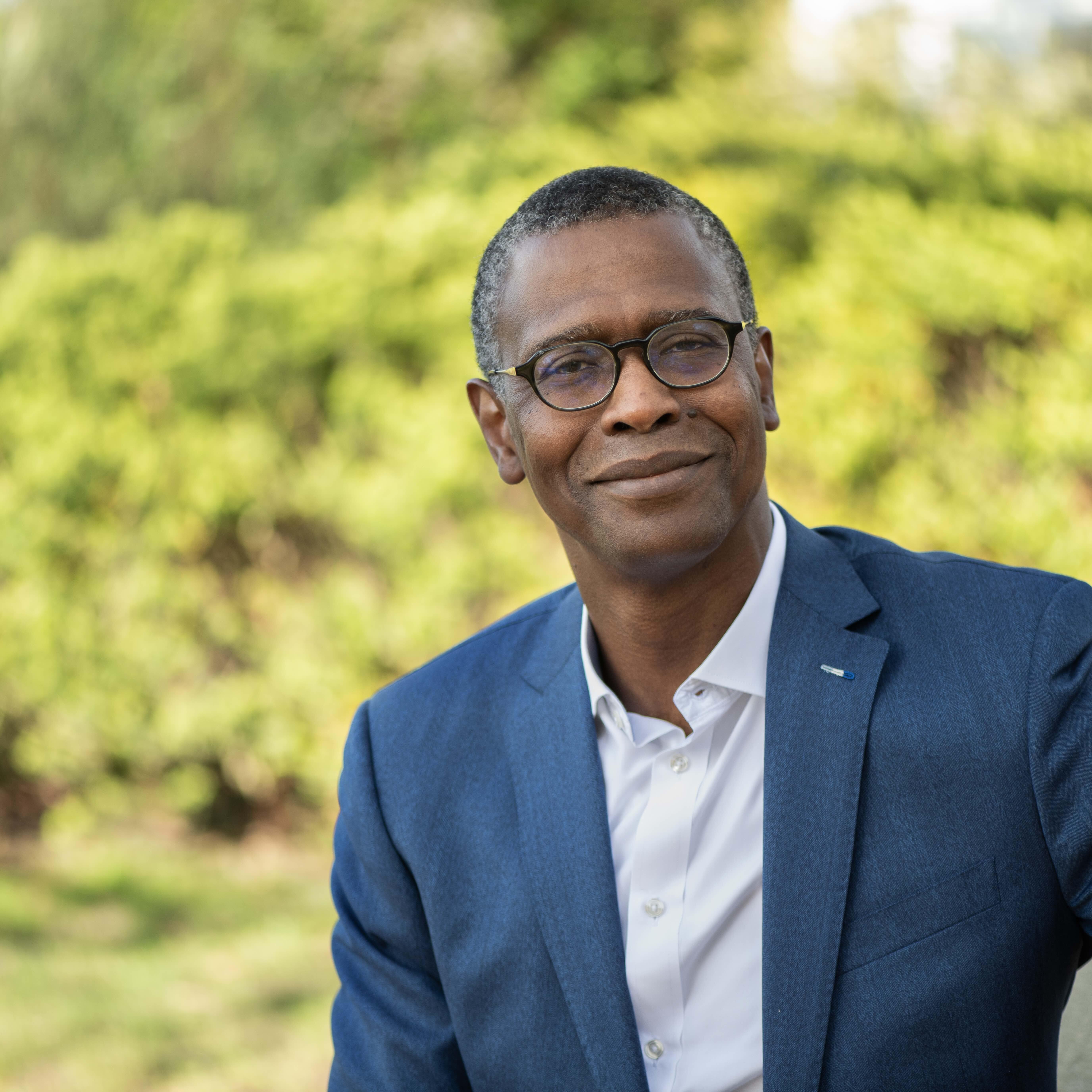 Portrait of Segun Osuntoku
